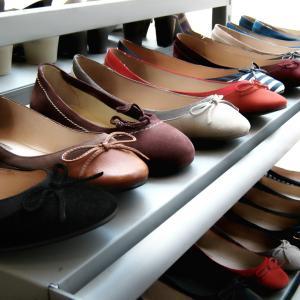 高齢者のペタンコ靴