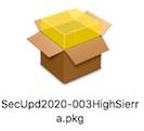 セキュリティアップデート 2020-004 ( High Sierra) インストール!