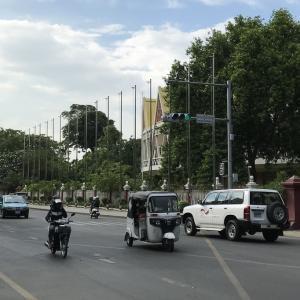 カンボジアの首都プノンペン
