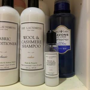 カシミヤストールをホームクリーニングできる洗剤「ザ・ランドレス ウールカシミアシャンプー」を使用レビュー