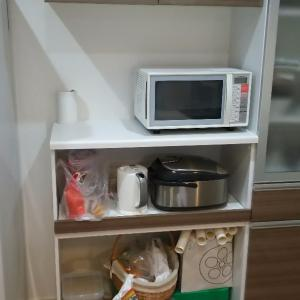 食器棚の下空間、、気持ちスッキリ〓