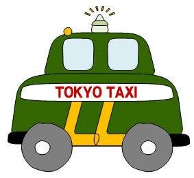 記号と英字で完成するタクシーの描き方