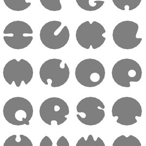 星:10ptを使ったアルファベットの描き方