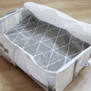 【ニトリ】3WAYの衣類・ふとん収納バッグは変幻自在の優秀アイテム!