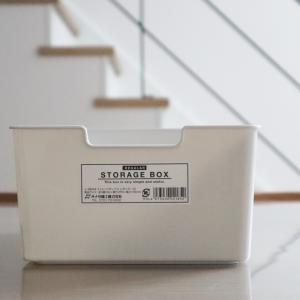 【セリア】ジップロック冷凍にピッタリの収納ボックス。