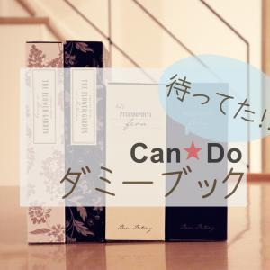 【キャンドゥ】ついに出た!100円で買える大きめダミーブック。