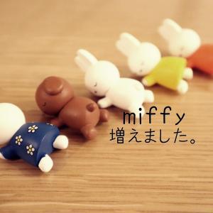 【miffy】8月最初のお届けものはミッフィー。次回のお買い物マラソン日程。