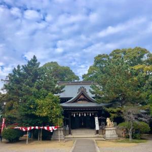 姫路神社と白川神社。