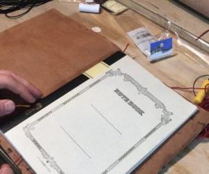 狩猟ノートカバーを作りつつ、狩猟ノートについて再考