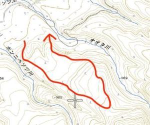 登山道のない山の歩き方と楽しみ方