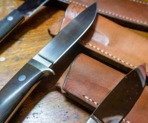 狩猟用ナイフという観点で内田啓さんの3本のナイフと対話してみる
