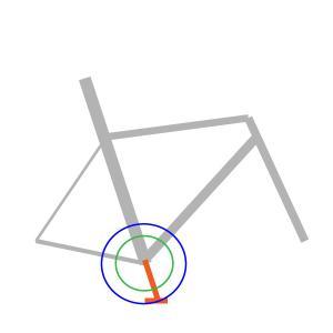 ロードバイクとショートクランク理論。