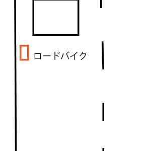 赤信号で停車中、どの位置で待つのがいいのか?という話について。