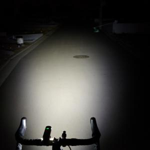 夜間にロードバイクに乗るときに気をつけること。