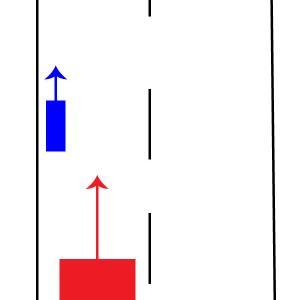 【追いつかれた車両の義務】は自転車には関係ある?ない?という議論は、法を読んで、実際にケーススタディすればすぐにわかる話。