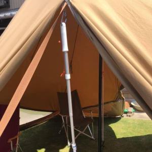 【tent-mark DESIGNSの新商品】で開閉スムーズ