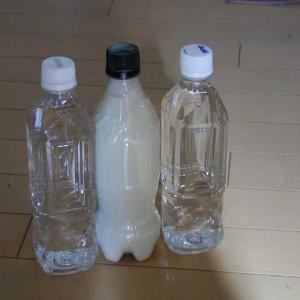 飲む水の量が減っているお父さん。