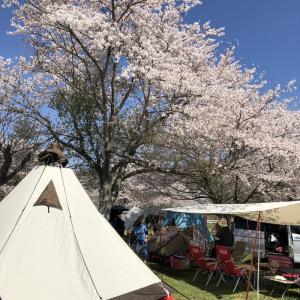 2019年4月13日〜14日 成田ゆめ牧場ファミリーオートキャンプ場