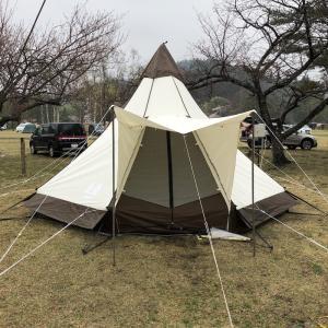 2019年4月28日〜5月2日 吹上高原キャンプ場 その2