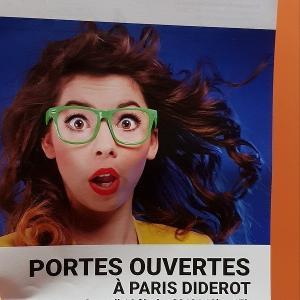 学校の Portes Ouvertes & 通行止めだらけのパリ(涙と怒り)…(笑)