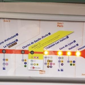 Auber駅の地下通路が2年間も閉鎖だって… で、ついでにコントロールの話。