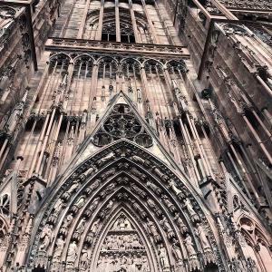 アルザスの方へ、プチ旅行〓… ストラスブール大聖堂