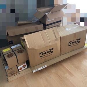【IKEA通販】国産RVに積めるダンボール量はこれくらい