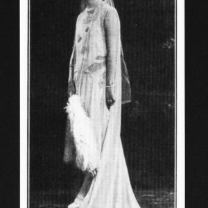 1929年の前田侯爵夫人
