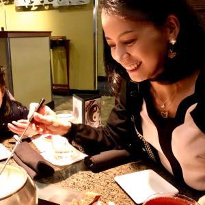 ママの誕生日は、フォンデュレストランで♡