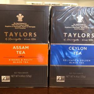 【お家カフェ】英国紅茶Taylors of Harrogate