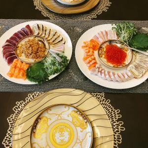 アメリカで、炙り焼き手巻き寿司パーティー開催♡