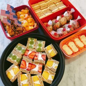 ピクニックのお弁当♡