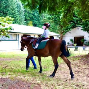 ビーチでママ会&乗馬見学!