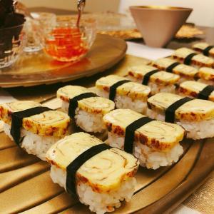 手巻き寿司パーティー&ムービーナイト!