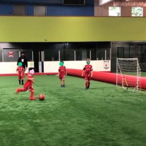 5歳息子のサッカースクール見学
