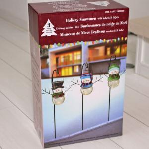 コストコのクリスマス商品♪省エネな外用イルミネーション