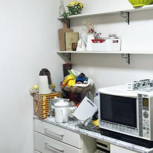 ニトリのカラボでキッチンの雑貨収納棚