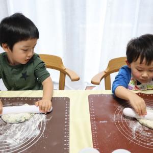 【開催報告】ニンジン豆乳のさんかくパンとほうれん草スティック