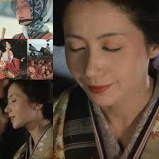 36歳の岩下志摩さん  《はなれ瞽女おりん》 1977年度作品
