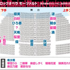 ロクモ千穐楽観劇予定の皆さまへ、東京建物Brillia HALL 客席降り図を更新しました│ロックオペラモーツァルト