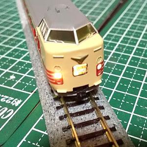 TOMIX381系加工(ヘッドマーク改善)