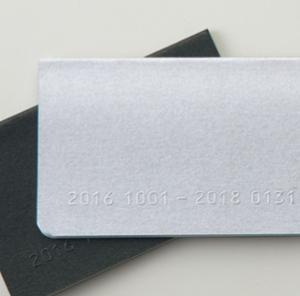 カードサイズのダイアリー 手帳