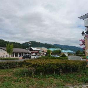 哲西栗を使用したマロンソフトクリーム(岡山県新見市・道の駅 鯉が窪)