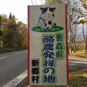 バジルアイスクリーム(青森県三戸郡新郷村・道の駅しんごう)