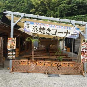 カツオソフトクリーム(高知県高岡郡中土佐町・浜焼き 海王)