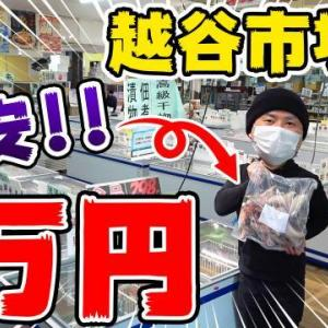 越谷市場のフジシゲで1万円使うまで帰れません!【前編】