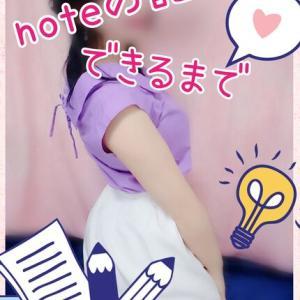 note(ノート)の記事が一つできるまで!