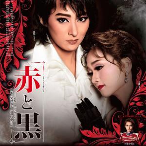 野心がにじむ瞳、恍惚の胸板~何てダークな珠城りょう!月組「赤と黒」ポスター画像アップ!!