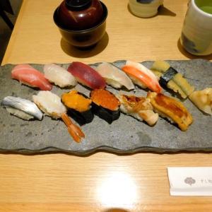 お寿司、猛烈に久しぶり