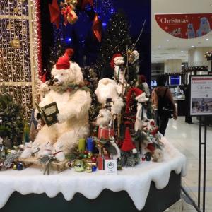 名駅タカシマヤのクリスマス飾り